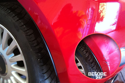 Bumper Scuff Repair in Great Barr, Birmingham