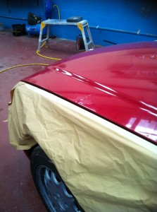 Car Paint Repair Step 1